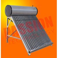 China Wall Mounted Solar Water Heater , Tube Solar Hot Water System For Room Heating wholesale