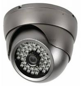 "China DIS CHIP 1000TVL 1/3"" CMOS camera with IR-CUT weatherproof Dome security Camera 48 IR fixed lens CCTV Camera wholesale"