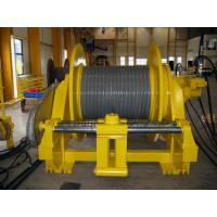 China Double Folded Wire Rope Drum Cable Reel With Rope Line Device ISO BV CE Standard wholesale