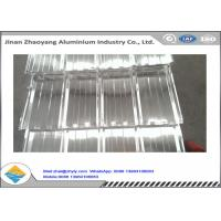 China No Pollution Fireproof Corrugated Aluminum Sheet Excellent UV Resistance wholesale