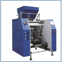 Quality 450mm Width Cling Film Making Machine / Plastic Film Slitting Machine for sale