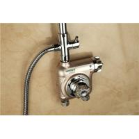 Anti - Scaling Temperature Control Mixing Valve , Commercial Shower Mixer Valves