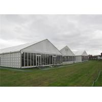 China Modern Design Clearspan Structure Outdoor Event Glass Wall Tents For Party Reception wholesale