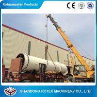 China 11 kw Sawdust Rotating Drum Dryer Machine 12 m Length 2.2 m Width wholesale
