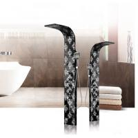 China Best Quality Customize Size Stainless Steel Solid Surface Shower Panel Bathroom Items on sale