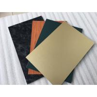 Quality Triple Coating Aluminum Composite Metal Panels With Paint Thickness 35um for sale