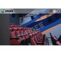 Quality Large Mobile 4D Movie Theater Equipment , Motion Chairs With Comfortable for sale