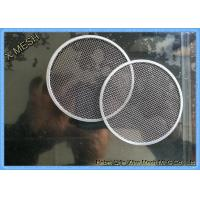 Buy cheap Filter Disc Metal Wire Mesh , T316 Stainless Steel Mesh Cloth Gas Filtration from wholesalers