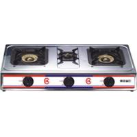 China Electronic Ignition Restaurant / Home Kitchen Gas Burner Cooker JP-302 wholesale
