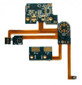 China Customized 1 oz Copper Rigid Flex PCB 4 LayerCircuit Board , Rigid Flex Assembly wholesale
