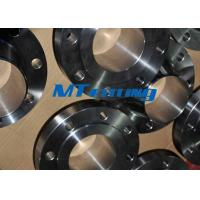 China 1500LB F51 / F53 2205 / 2507 Flanges Pipe Fittings , Duplex Steel Socket Welding Flange wholesale