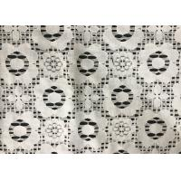 Quality Embroidery Cotton Lingerie Lace Fabric , african / french lace fabric for dress for sale