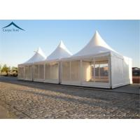 China Marquee Customized Pagoda Canopy Tent , Pvc Party Tent Water Proof wholesale