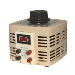 China TDGC2 Analog Meter Display Alternator Variac Voltage Regulator AC Automatic Variac Transformer wholesale