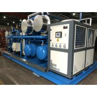 China Skid Mounted Hydrocarbon Recovery Unit , Refrigerant Recovery Machine Simple Installation wholesale