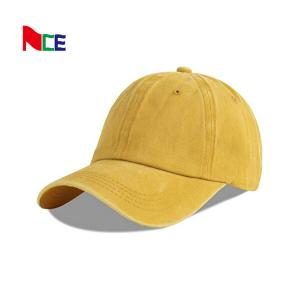China Blank Sports Dad Hats With Sunday Metal Buckle Embroidery Logo wholesale