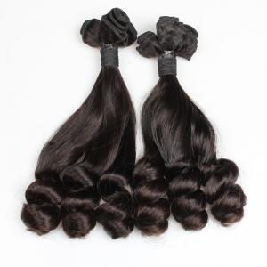 China Wholesale Virgin Human Hair Etension Natural Color Indian Hair Bundles on sale