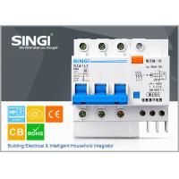 China 63Amp 3 Pole Earth Leakage Miniature Circuit Breakers for building lighting wholesale