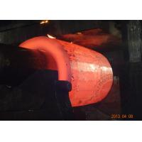 China ASTM 1045 DIN CK45 Forged Cylinder barrel forging carbon steel , EF + LF + VD wholesale