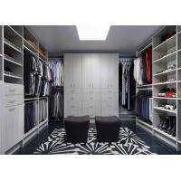 China Bedroom Furniture Walk In Closet Wardrobe Laminate Custom Made on sale