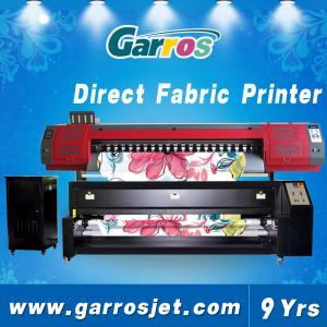 China Inkjet Printer Garros TX-180D Digital Fabric Printer Canvas Printing Machine wholesale