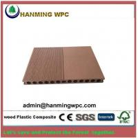 China Easy installing outdoor China wood plastic composite decking/wood polymer composite decking d wholesale