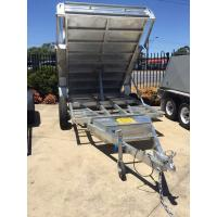 China 5 Stage Ram 5 Ton 10x5 Galvanised Tandem Tipper Trailers 3200KG wholesale
