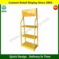 China Retail Wire Metal Oil Display Rack   YM6-023 wholesale