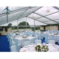China UV - Resistant Outdoor Event Tents / Aluminum Alloy Trade Show Marquee Event Tent wholesale