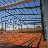 China Light Frame Steel Building Construction Warehouse Steel Shade Structure wholesale