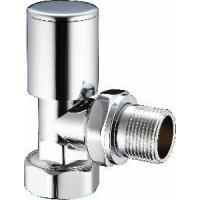 China Angle Brass Radiator Valves Chrome Lockshield (DZR-05) wholesale