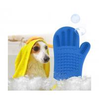 China Silicone Pet Grooming Glove wholesale