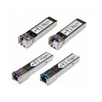 China BIDI SFP Module,1.25G BIDI SFP 20KM Tx1550nm/ Rx1310nm single-mode Gigabit Ethernet wholesale