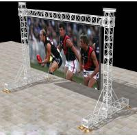 China LED Screen Aluminum Square Truss For Stage Backgroud / Background Truss wholesale