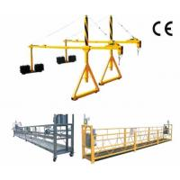 China 800 Rated load Personalized Rope Steel Suspended Platform with Dipping Zinc for sale