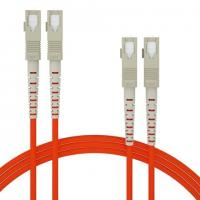 China OM1 OM2 Orange Fiber optic patch cord OS1 OS2  MM SX DX multicore can be customized wholesale
