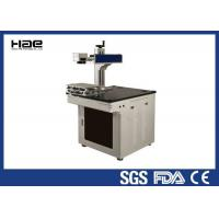 Buy cheap Portable metal Fiber 20W CO2 Laser Marking Machine for Carbon steel stainless from wholesalers