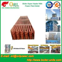 China Convection Platen CFB Boiler Superheater In Thermal Power Plant wholesale