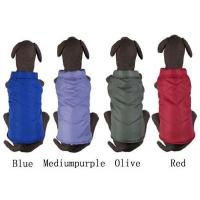 China Nylon Waterproof Dog Coats Clothes Blue , Red Color For Large Dogs Breed on sale