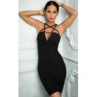 Professional Anti - Static Cut Out Bandage Dress For Evening / Formal