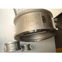 China Double Plate Wafer Stainless Steel Check Valve Without External Leakage Point wholesale