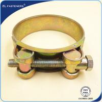 China Heavy Duty Stainless Steel Hose Clamps T Bolt Hose Clamps Single / Double Bolts wholesale