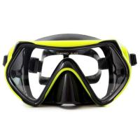 China Dry Snorkel Anti-Fog Anti-Leak Design Diving Mask Reef Explorer Swimming Goggles with Anti-Fog and UV Protection wholesale