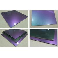 China Professional Chameleon Rigid PVDF Aluminum Composite Panel for Buildings wholesale