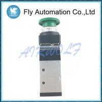 China Aluminium Alloy 5/2 Way Pneumatic Manual Valve Compressed Air Fluid on sale