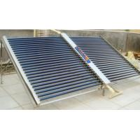 China Automatic Vacuum Tube Solar Collector For Swimming Pool , Solar Keymark wholesale