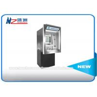 China Subway Station Self Service Cash ATM Kiosk Machines , Floor Standing Bill Acceptor Kiosk wholesale