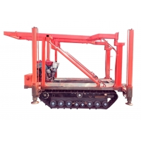 China Self Propelled Hydraulic 100m Crawler Track Undercarriage wholesale