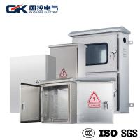China OEM Offered Stainless Steel Industrial Enclosures / Electrical Metal Cabinets wholesale