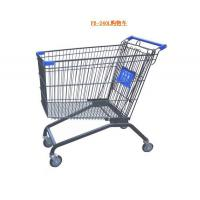 China Iron wire Shopping cart,supermarket trolley,metal push cart on sale